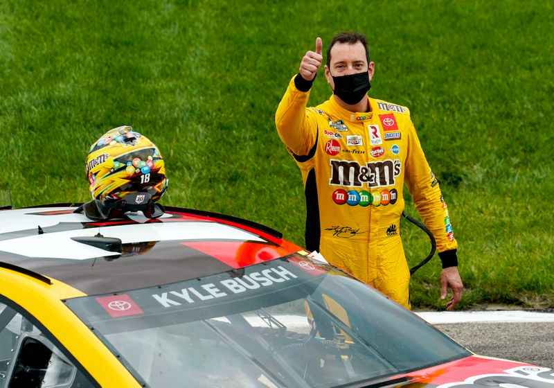 NASCAR: Buschy McBusch Race 400