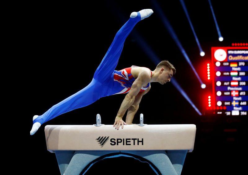 FILE PHOTO: 2021 European Artistic Gymnastics Championships