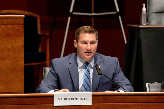 WASHINGTON, DC - JUNE 24: U.S. Rep. Guy Reschenthaler (R-PA) attends a hearing of the House Judiciary Committee on at the Capitol Building June 24, 2020 in Washington, DC. Democrats are highlighting what they say is the improper politicization of Attorney General Bill Barr's Justice Department. (Photo by Anna Moneymaker-Pool/Getty Images)