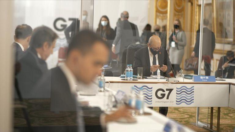 COVID-19 protocols the G7 summit