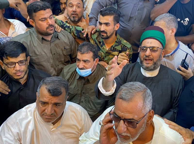Qasim Muslih, who commands the PMF, is released in Kerbala