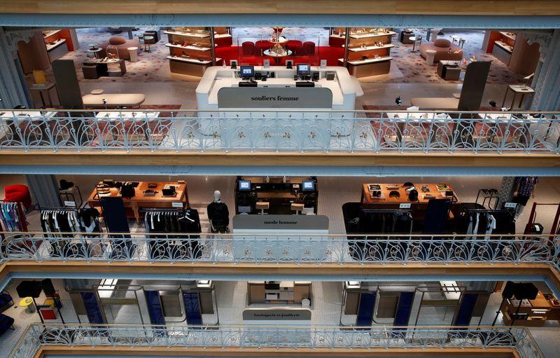 Luxury goods group LVMH unveils Samaritaine department store in Paris