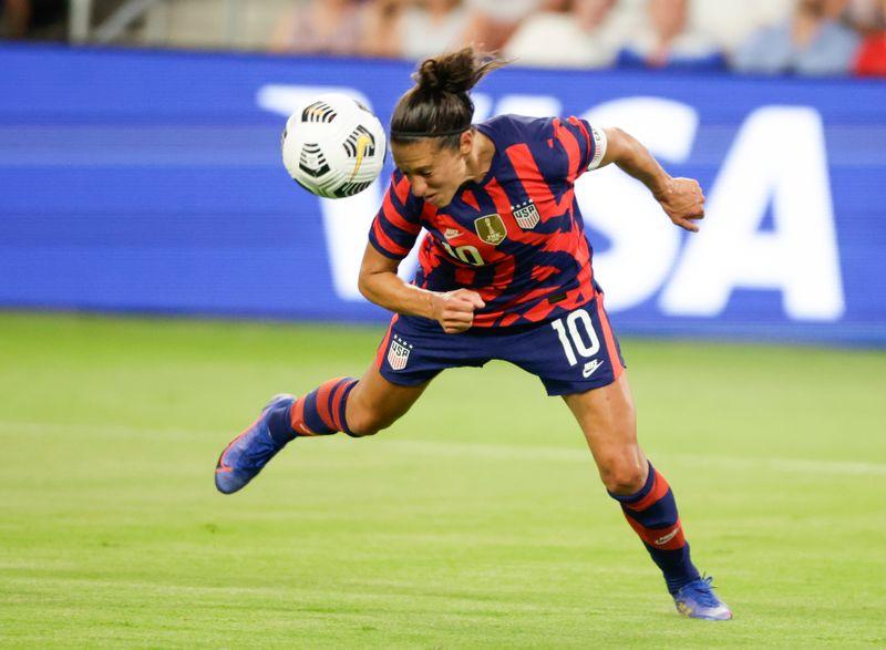 Soccer: U.S. Women's National Team Summer Series-Nigeria at USA