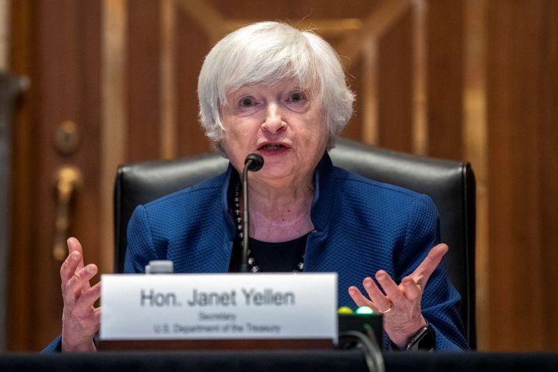 Yellen testifies about Treasury budget request