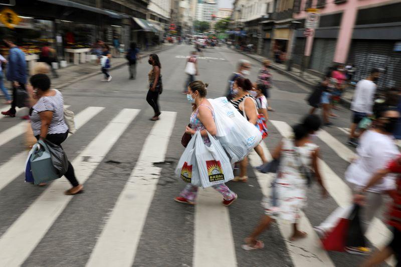 FILE PHOTO: Outbreak of the coronavirus disease (COVID-19) in Rio de Janeiro