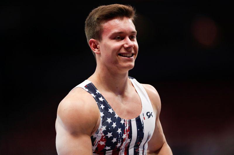 U.S. gymnastics Olympic trials in St. Louis
