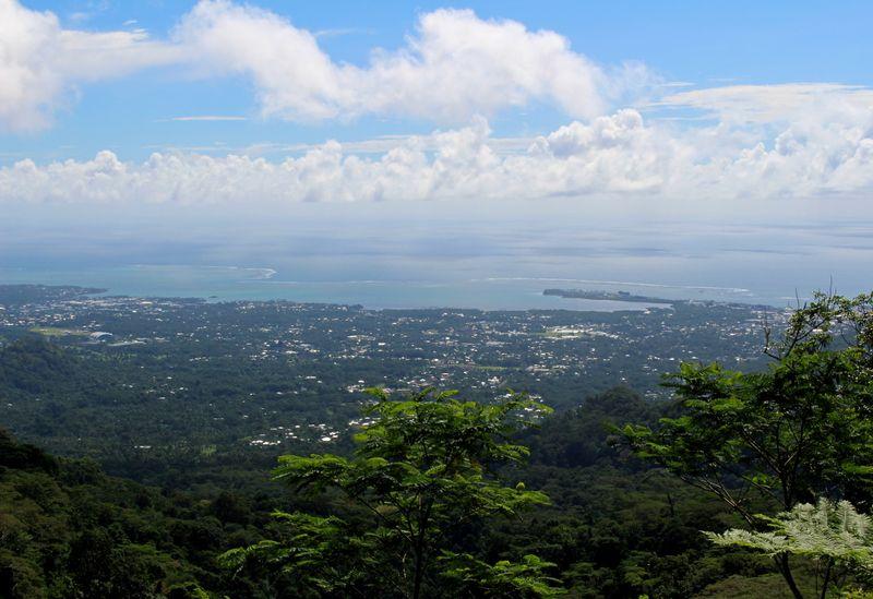 FILE PHOTO: FILE PHOTO: A view of the capital Apia, Samoa