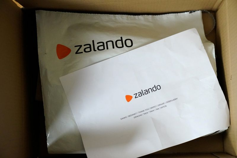 FILE PHOTO: Zalando packaging from an online delivery
