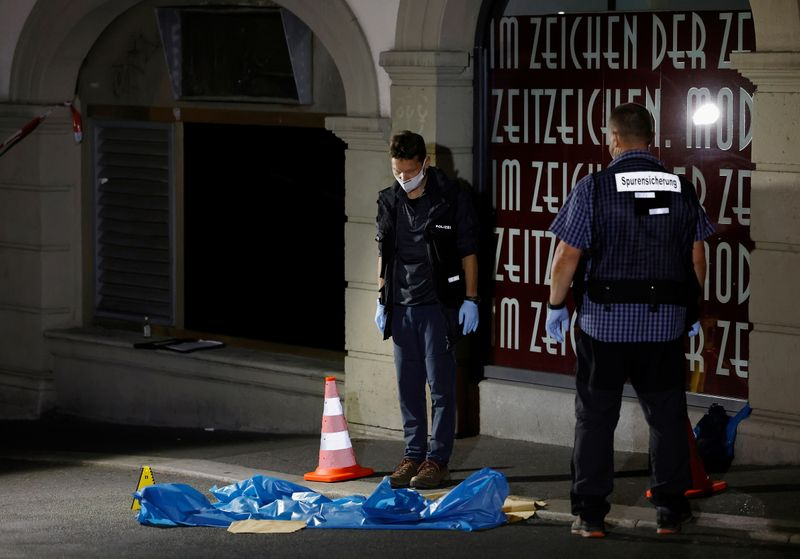 Police arrest suspect in German town of Wuerzburg after stabbing