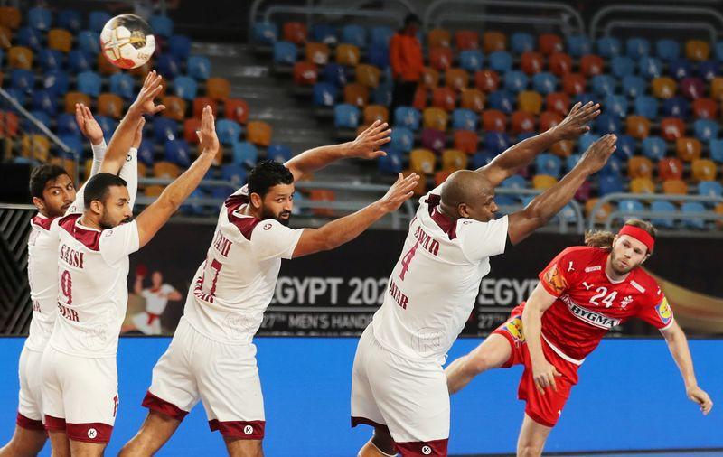 FILE PHOTO: 2021 IHF Handball World Championship - Main Round Group 2 - Denmark v Qatar