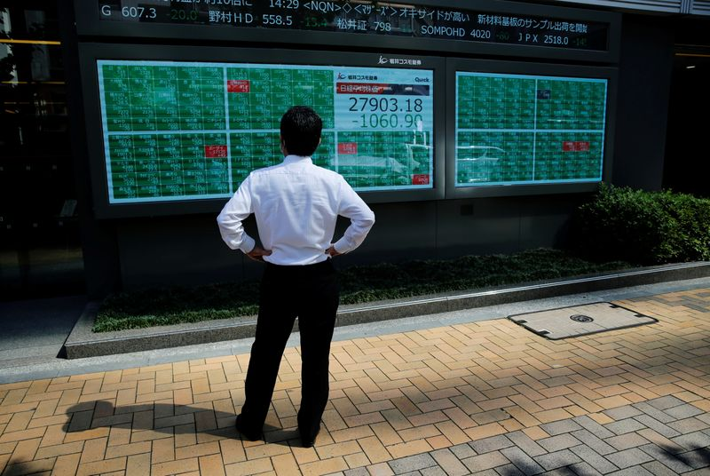 Asian stocks drop as Fed shift reverberates