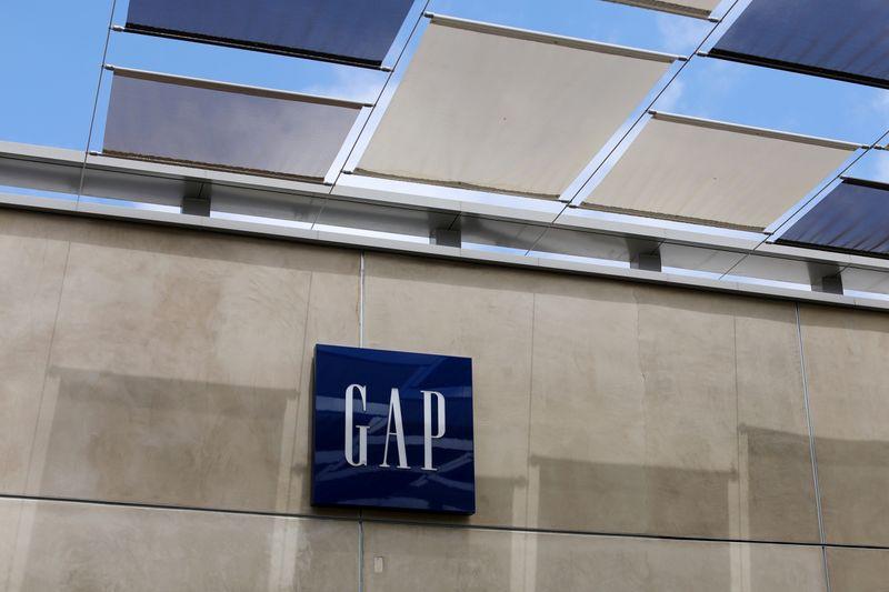 A Gap Inc. retail store is shown in La Jolla