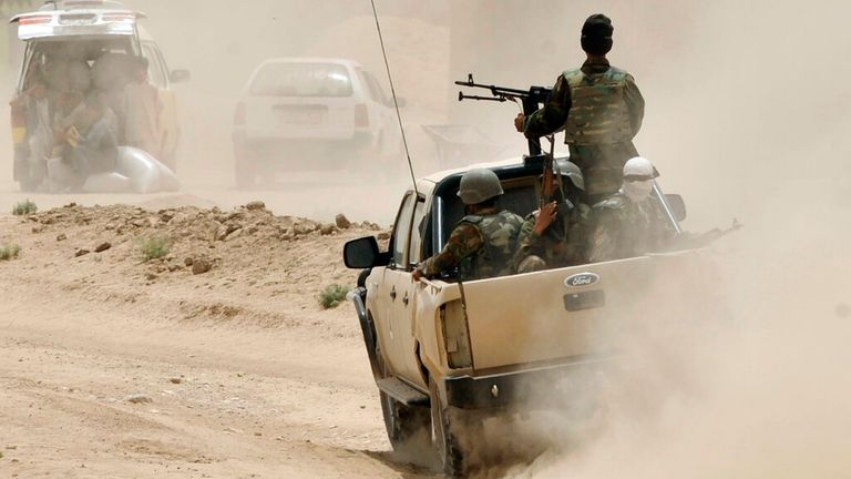 The attack happened in Baghlan province, northern Afghanistan. File pic: AP