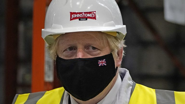 Boris Johnson was in Batley ahead of the by-election on 1 July