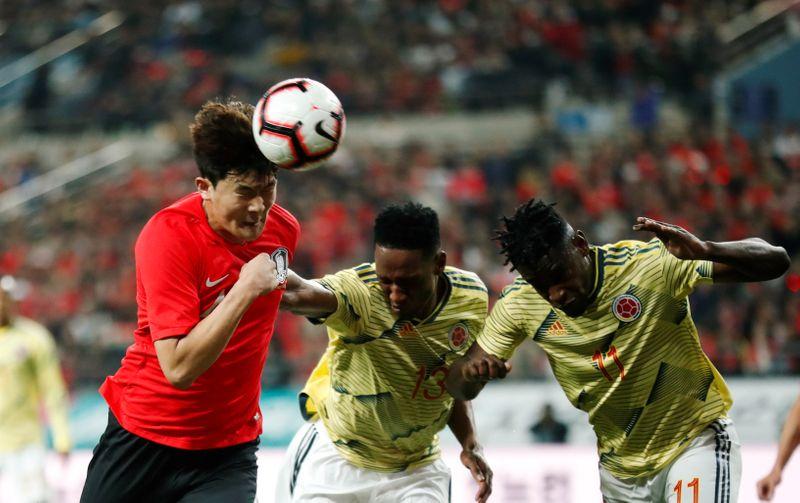 Soccer Football - International Friendly - South Korea vs Colombia