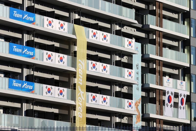 Olympics-COVID case found at athletes' village, in Tokyo