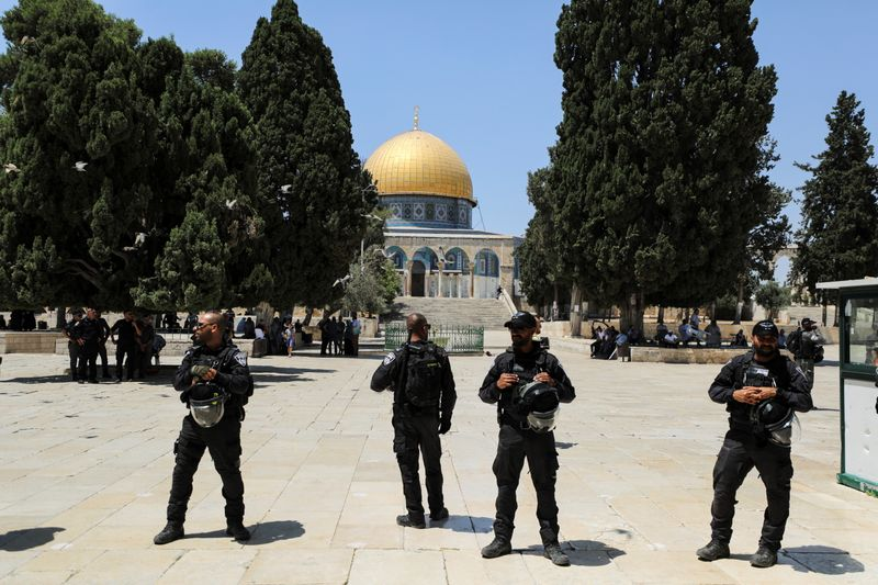 Jewish visits, opposed by Palestinians, stir tensions at Jerusalem holy site