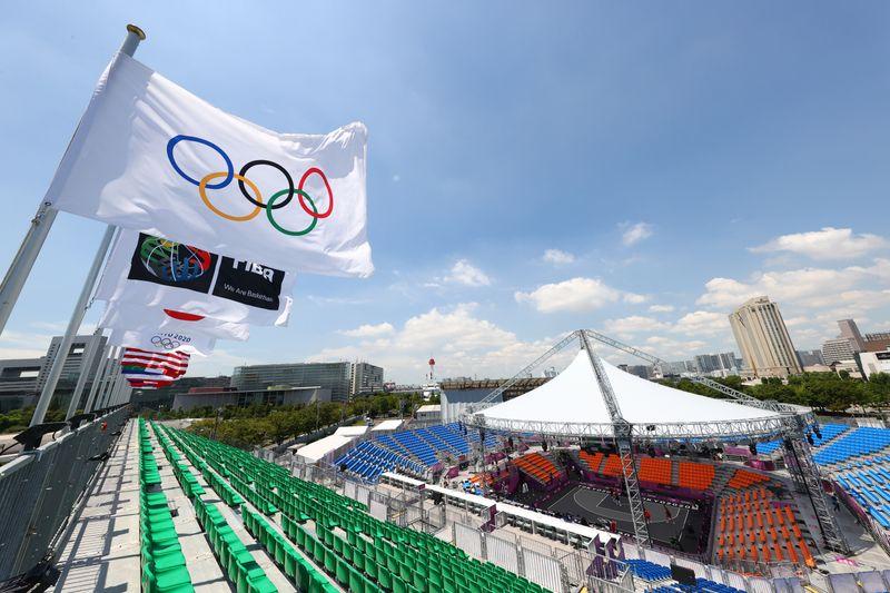Tokyo 2020 Olympics - Basketball 3x3 Training