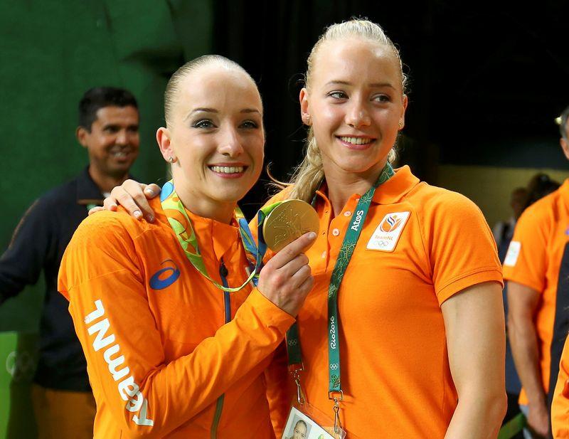 FILE PHOTO: 2016 Rio Olympics - Artistic Gymnastics - Women's Balance Beam Victory Ceremony