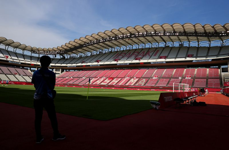 Soccer Football - Ibaraki Kashima Stadium Previews