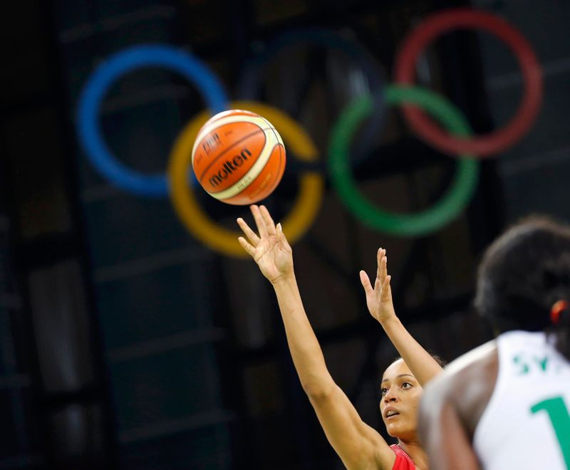 FILE PHOTO: Basketball - Women's Preliminary Round Group B Senegal v Canada