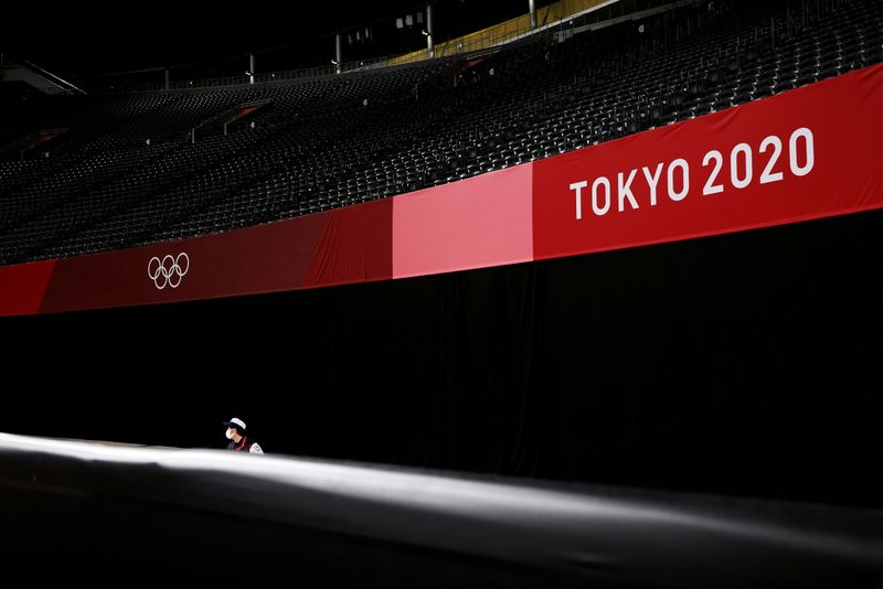 Olympics 2020: from the sidelines