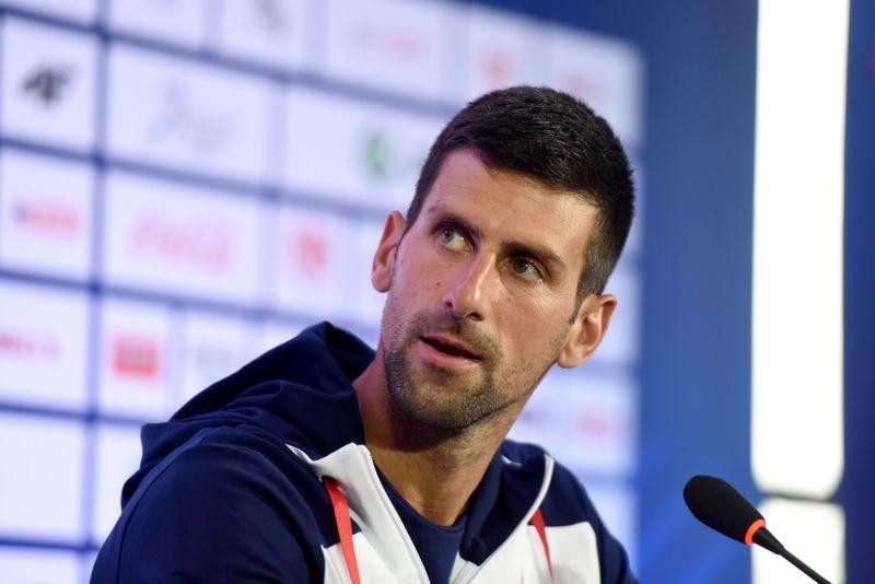Novak Djokovic news conference in Belgrade