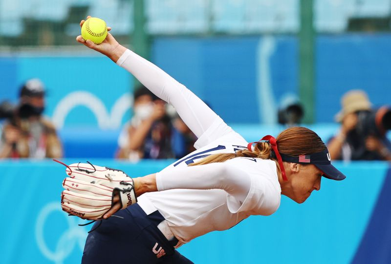 Softball - Women - Opening Round - United States v Canada