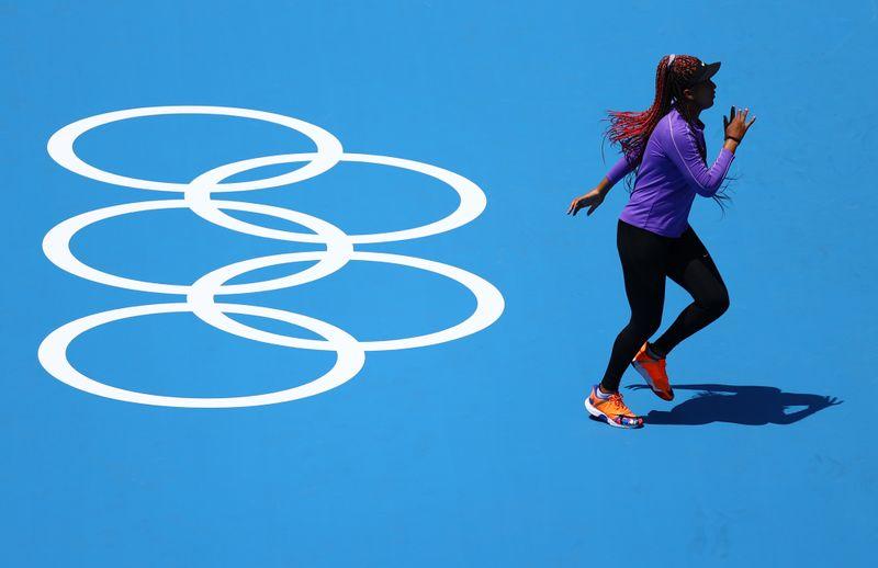 Tokyo 2020 Olympics - Tennis Training