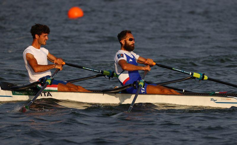 Tokyo 2020 Olympics - Rowing Training