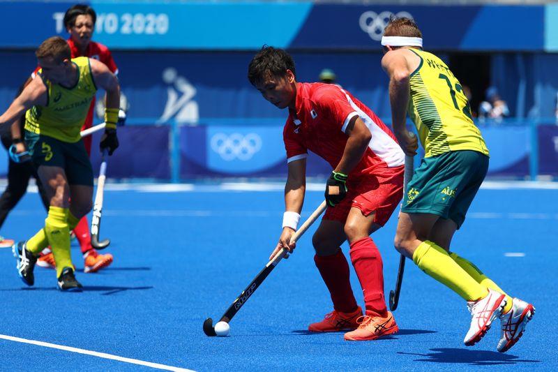 Hockey - Men's Pool A - Japan v Australia
