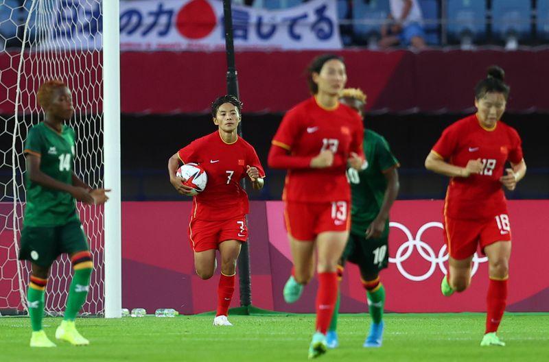 Soccer Football - Women - Group F - China v Zambia