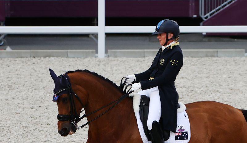 Equestrian - Dressage - Individual - Grand Prix - Day 1 - Groups A/B/C