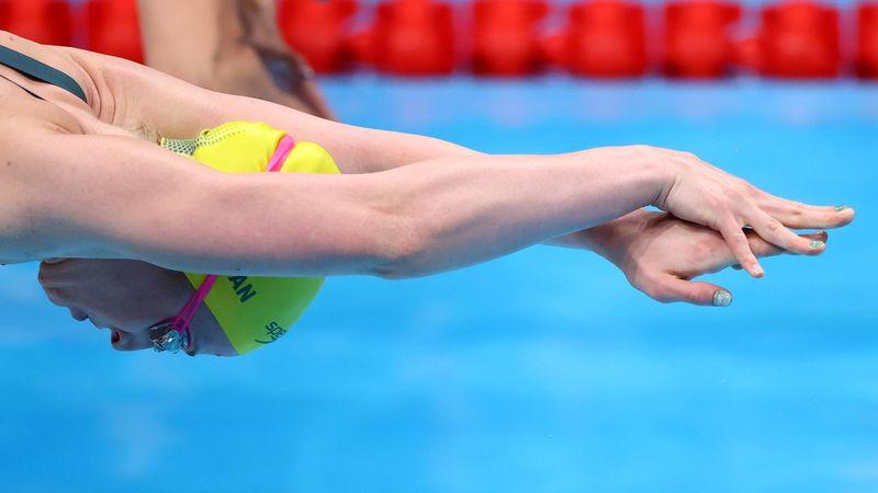 Swimming - Women's 4 x 100m Freestyle Relay - Heats