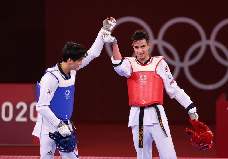 Taekwondo - Men's Featherweight 58-68kg - Last 16