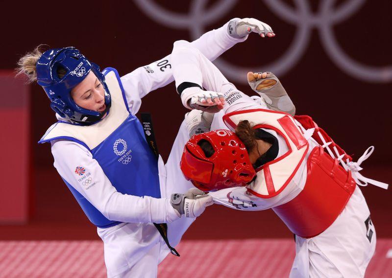 Taekwondo - Women's Featherweight 49-57kg - Last 16