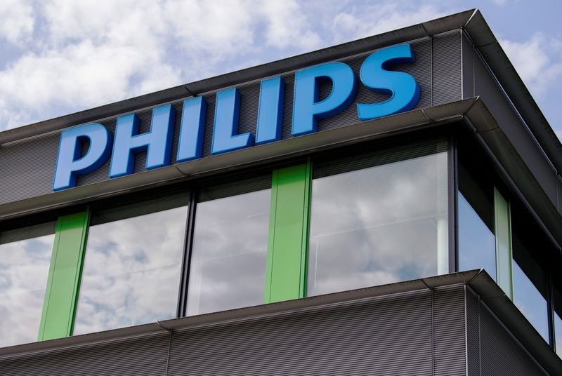 FILE PHOTO: Philips Healthcare headquarters is seen in Best