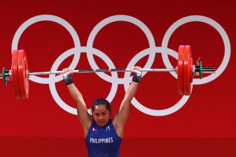 Weightlifting - Women's 55kg - Group A