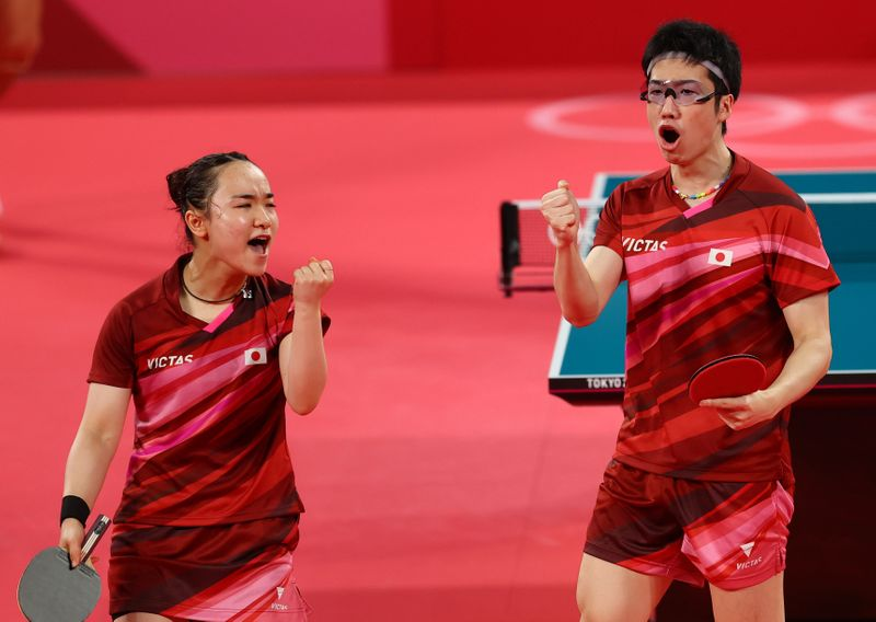 Table Tennis - Mixed Doubles - Gold medal match