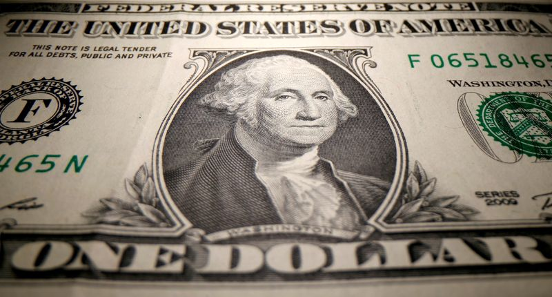 FILE PHOTO: A U.S. dollar banknote is seen in this illustration taken May 26, 2020.