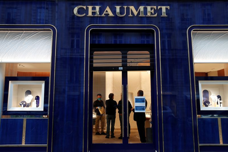 Chaumet jewelry store targeted by a robbery, in Paris