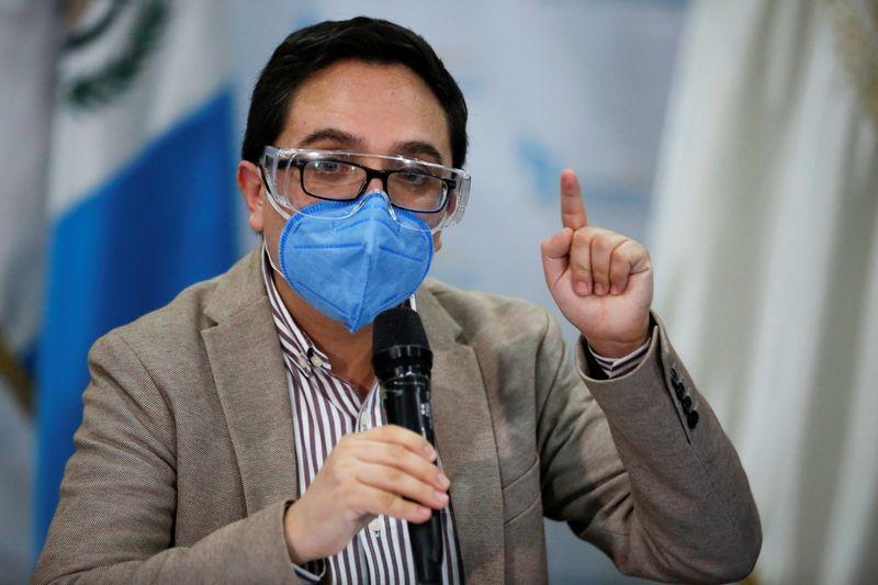 FILE PHOTO: Guatemala attorney general fires leading anti-corruption prosecutor