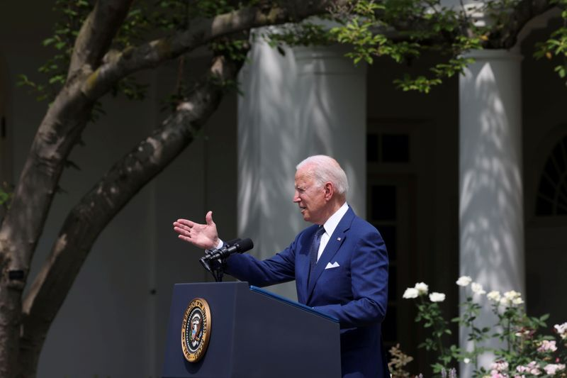FILE PHOTO: U.S. President Biden hosts Disabilities Act 31st anniversary event at the White House in Washington