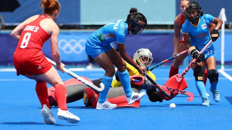 Hockey - Women's Pool A - Britain v India
