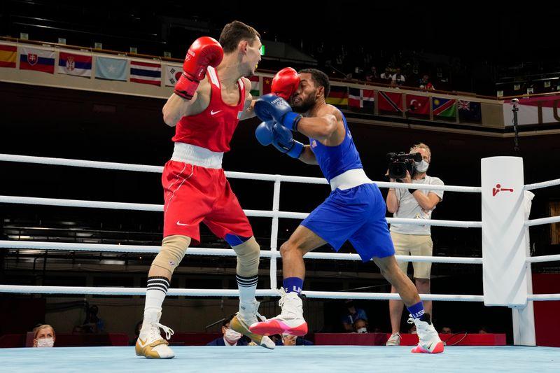 Olympics: Boxing-July 28