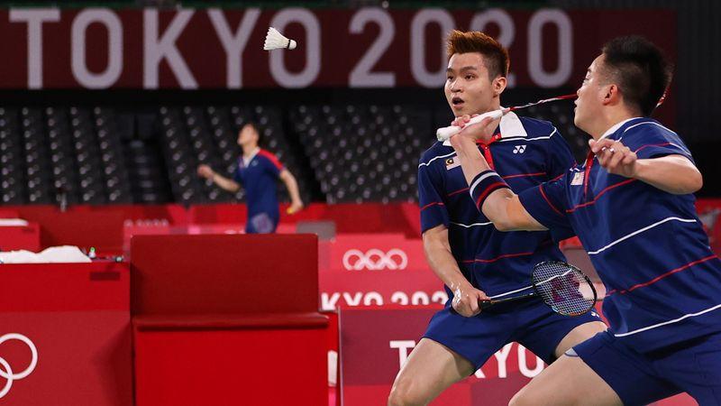 Badminton - Men's Doubles - Quarterfinal