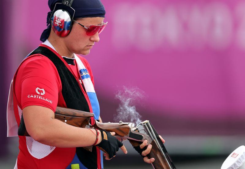 Shooting - Women's Trap - Qualification Day 1