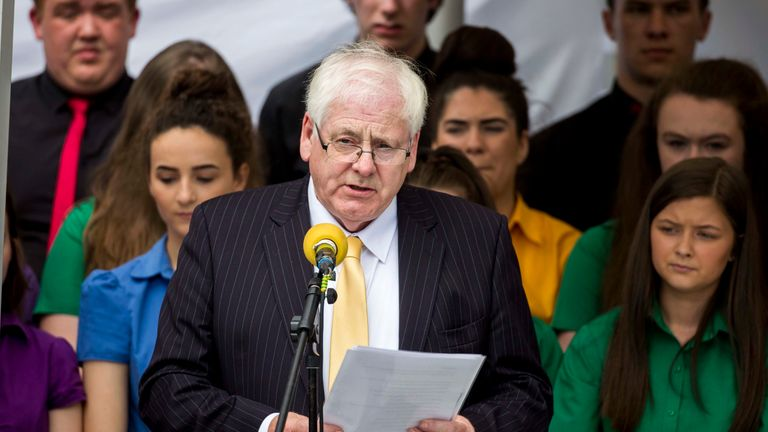 Victims campaigner Michael Gallagher who lost his son Aiden in the Omagh bombing